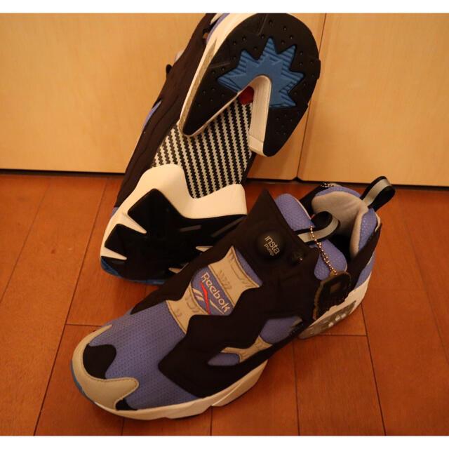 Reebok(リーボック)の【値下しました】Reebok INSTAPUMP FURY OG SAX  メンズの靴/シューズ(スニーカー)の商品写真