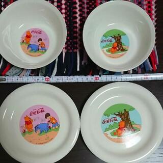 クマノプーサン(くまのプーさん)のくまのプーさん小皿とプレート皿セット(キャラクターグッズ)