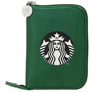 スターバックスコーヒー(Starbucks Coffee)のインパクト大! スターバックス  TO GOポケッタブルエコバッグ グリーン(エコバッグ)