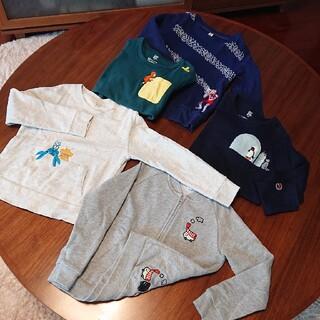 グラニフ(Design Tshirts Store graniph)の未使用含め9着 130センチ  グラニフ等ブランド服(Tシャツ/カットソー)