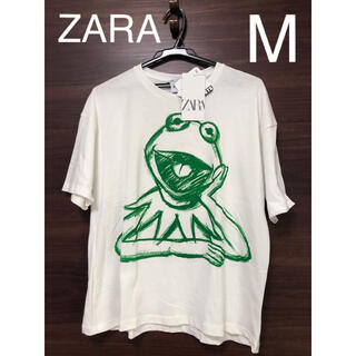 ZARA - 未使用タグ付 ZARA ザ・マペッツ  カーミット ミスピギー Tシャツ M