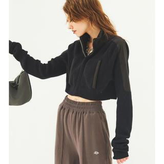 ALEXIA STAM - juemi  Zip-up Mock Neck Knit