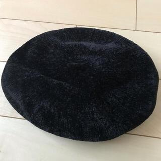 アースミュージックアンドエコロジー(earth music & ecology)のモールヤーンベレー帽 新品(ハンチング/ベレー帽)
