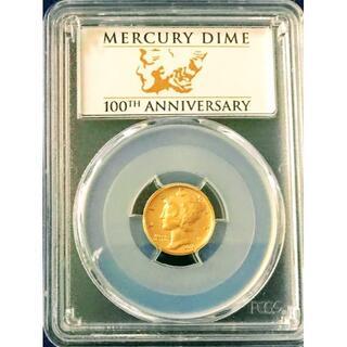 DIME KAZU様専用 2016 アメリカ マーキュリーダイム 記念 金貨(貨幣)