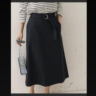 ドアーズ(DOORS / URBAN RESEARCH)の✧URBAN RESEARCH DOORS ベルト付Aラインスカート(ロングスカート)