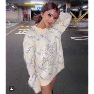 ザラ(ZARA)のAngel knit エンジェルニット プルオーバー セーター ロゴトップス (ニット/セーター)