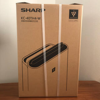 SHARP - 【新品未開封・一年間の保証あり】シャープ 空気清浄機 KC 40TH4