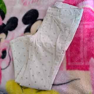 エイチアンドエム(H&M)のコーデュロイパン スキニー パンツ 長ズボン 90 H&M(パンツ/スパッツ)