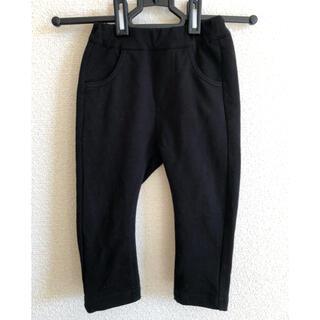 ムージョンジョン(mou jon jon)のmoujonjon ブラックパンツ サイズ80 (パンツ)