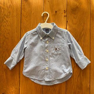 babyGAP - babygap ダンガリーシャツ デニムシャツ 80㎝