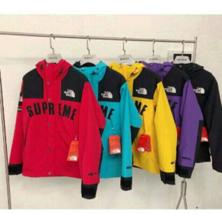 THE NORTH FACE - 20SS Supreme THE North Face S Logo Hoode