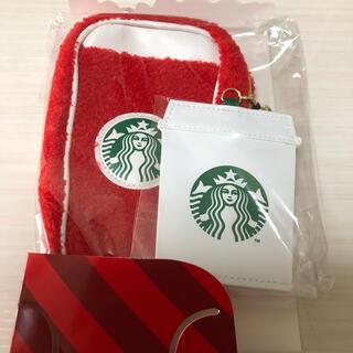スターバックスコーヒー(Starbucks Coffee)の新品未使用 スターバックス パスケース 定期入れ ペンケース ペンシルケース(名刺入れ/定期入れ)