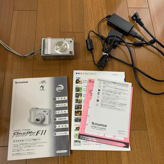 フジフイルム(富士フイルム)の富士フィルム FinePix F11 デジタルカメラ(コンパクトデジタルカメラ)