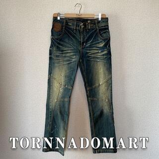 トルネードマート(TORNADO MART)のTORNNADOMART ジッパー ライダーデニム(デニム/ジーンズ)