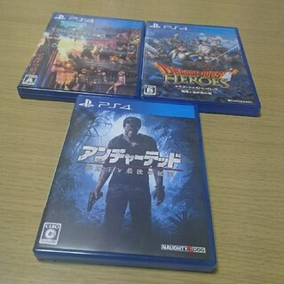 PlayStation4 - PS4ソフト3本セット