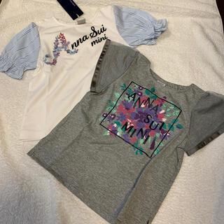 アナスイミニ(ANNA SUI mini)の新品未使用110アナスイミニTシャツ(Tシャツ/カットソー)