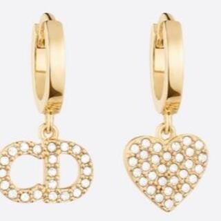 Dior - CLAIR D LUNE ピアス メタル&クリスタル
