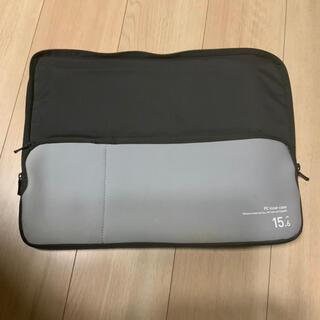 ヒューレットパッカード(HP)の美品 PCケース 15.6インチ クッション付き(PC周辺機器)