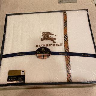BURBERRY - burberryタオルシーツ 140×240cm  日本製