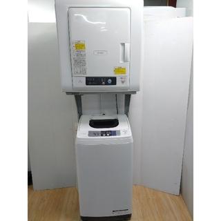 ヒタチ(日立)の洗濯機 乾燥機 日立ランドリーセット これっきり 専用台付き 楽々洗濯乾燥(洗濯機)