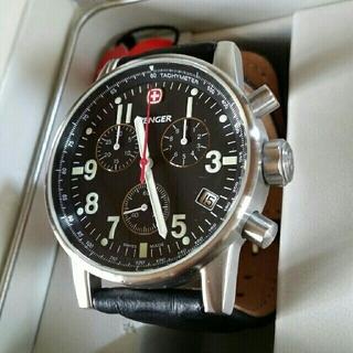 ウェンガー(Wenger)の美品 WENGER ウェンガー 腕時計 最終値下げ(腕時計(アナログ))