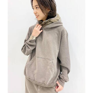 DEUXIEME CLASSE - MUSE レミレリーフ DOWN FOODY PARKA BROWN