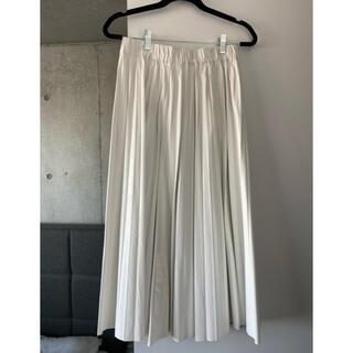ZARA - ZARA フェイクレザー プリーツスカート