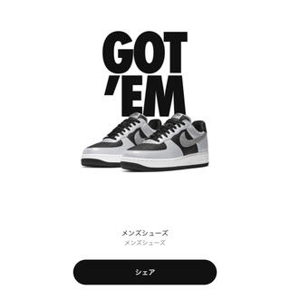 "NIKE - 27cm☆NIKE AIR FORCE 1 B ""SILVER SNAKE"""