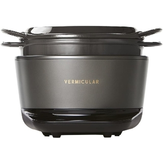 バーミキュラ(Vermicular)のバーミキュラ ライスポット  炊飯器 トリュフグレー 5合炊き  新品・未使用(炊飯器)