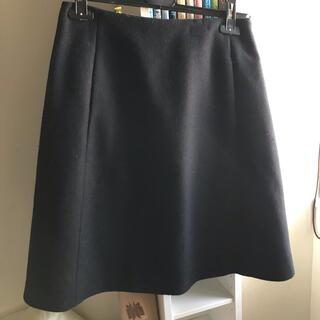 ジルサンダー(Jil Sander)のジルサンダー ネイビー JIL SANDER NAVY スカート34サイズ(ひざ丈スカート)