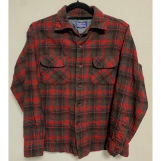 ペンドルトン(PENDLETON)の50s PENDLETON ボードシャツ オンブレ シャドーチェック ビンテージ(シャツ)