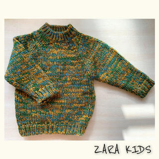 ザラキッズ(ZARA KIDS)の新品✴︎✴︎ZARA baby✴︎✴︎ニットセーター(ニット)
