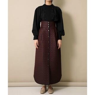 STUDIOUS - fumie tanaka キルティングスカート
