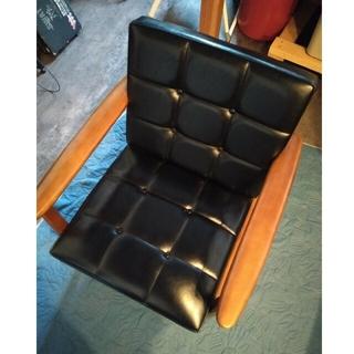 カリモク家具 - カリモク シングルソファ 黒