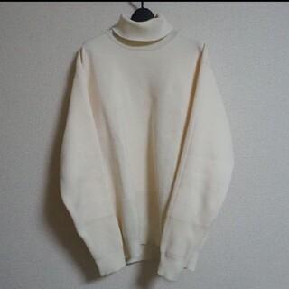 ムジルシリョウヒン(MUJI (無印良品))の無印良品 ハイネック アイボリー Mサイズ(ニット/セーター)