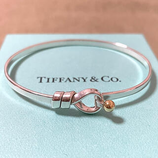 Tiffany & Co. - ティファニー フックアンドアイ バングル スターリングシルバー925 750