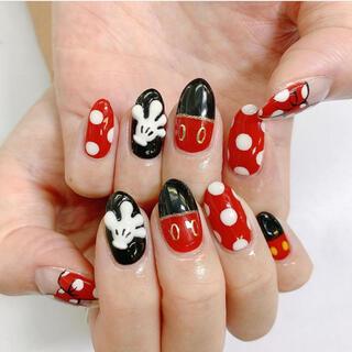 ディズニー(Disney)のネイルチップ(つけ爪/ネイルチップ)