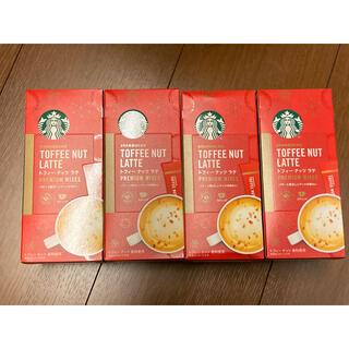 スターバックス トフィーナッツラテ 4箱 スティックタイプ コーヒー スタバ