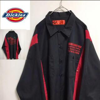 ディッキーズ(Dickies)の80's   ディッキーズ ワークシャツ 両面プリント(シャツ)