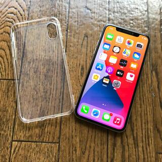 アップル(Apple)のiPhone X 256GB SIMフリー シルバー(スマートフォン本体)