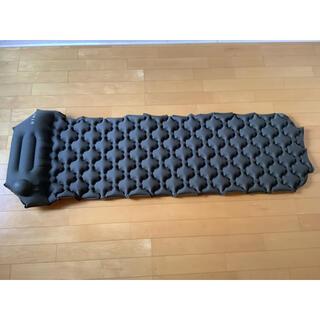 エアマット ハンドポンプ式 ケース付(寝袋/寝具)