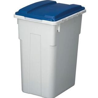 ★驚愕★ゴミ箱 33L 分別 フタ付き ごみ箱 ダストボックス 青(ごみ箱)