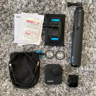 ゴープロ(GoPro)のGoProMAX Tripod &バッグアタッチメント付き(ビデオカメラ)