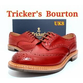 トリッカーズ(Trickers)の新品 Tricker's Bourton UK8 トリッカーズ バートン(ドレス/ビジネス)