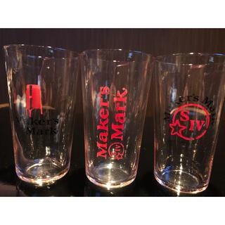 トウヨウササキガラス(東洋佐々木ガラス)のメーカーズマーク 非売品 薄張りグラス6個(3個箱無し)(グラス/カップ)