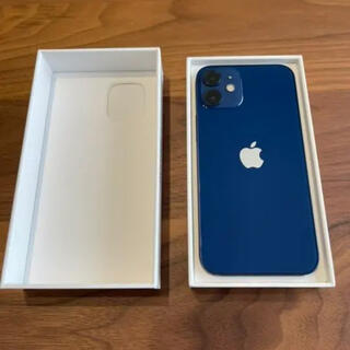 iPhone - 【美品】iPhone 12 mini ブルー 64 GB