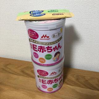 モリナガニュウギョウ(森永乳業)の森永 E赤ちゃん 特大800g缶×2 おまけ付き(その他)