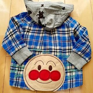 アンパンマン(アンパンマン)のアンパンマン❣️フード付きシャツ90(Tシャツ/カットソー)