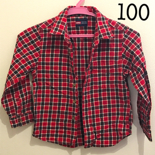 エドウィン(EDWIN)のEDWIN ネルシャツ サイズ100(Tシャツ/カットソー)