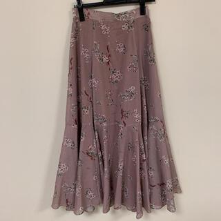 メゾンドフルール(Maison de FLEUR)のMaison de FLEUR 花柄 ロングスカート(ロングスカート)